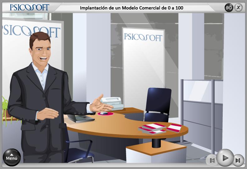 Psicosoft - Implantación de un Nuevo Modelo Comercial de 0 a 100