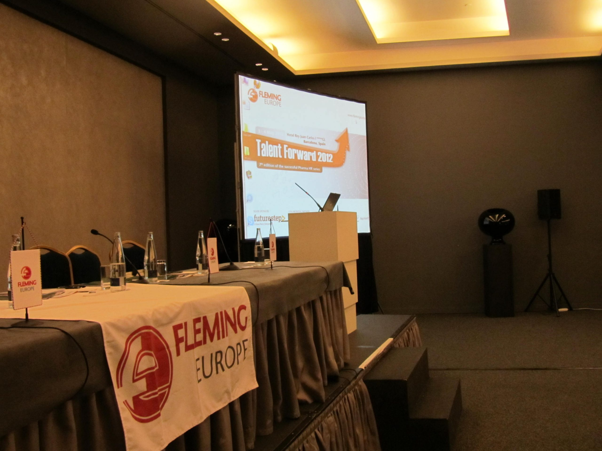 Psicosoft International en Talent forward 2012